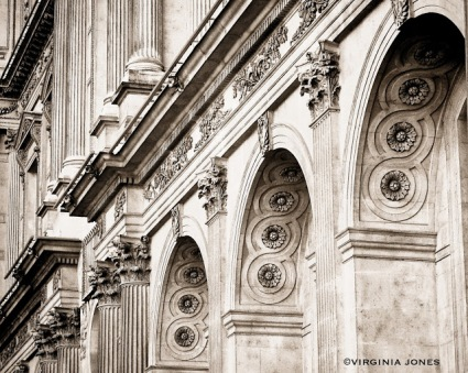 The Louvre - photo by Virginia Jones