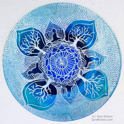 Album Mandala Art by Sara Roizen