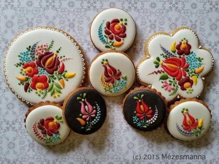 Hungarian Cookies - Mezesmanna