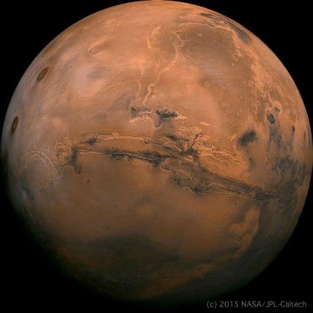 Mars Mandala - NASA/JPL-Caltech
