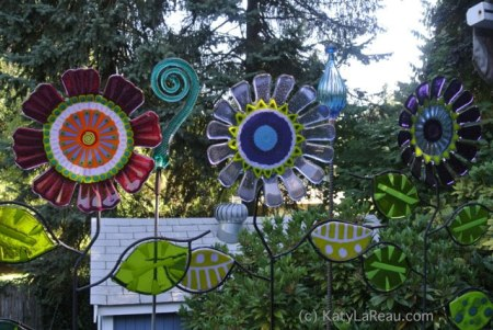 Katy LaReau's Garden Art