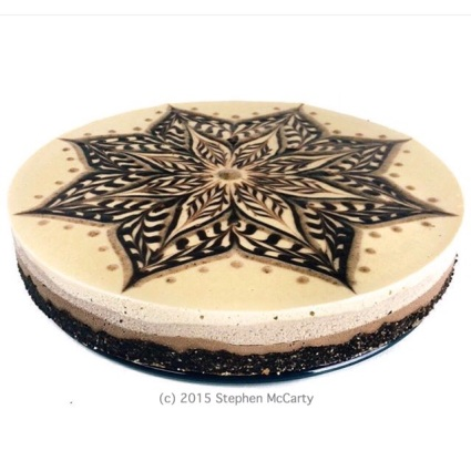 Peanut Butter Cheesecake - side view