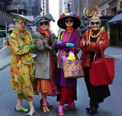 Lovely NYC Ladies - photographer unknown