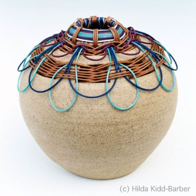 Basket Pottery by Hilda Kidd-Barber