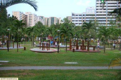 Tembusu Park side view