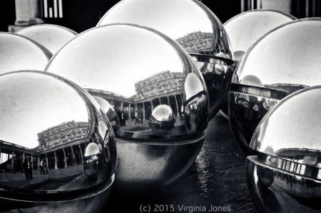 Les Boules photograph by Virginia Jones