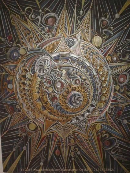 Cosmic Magic by Nadia Satya Art