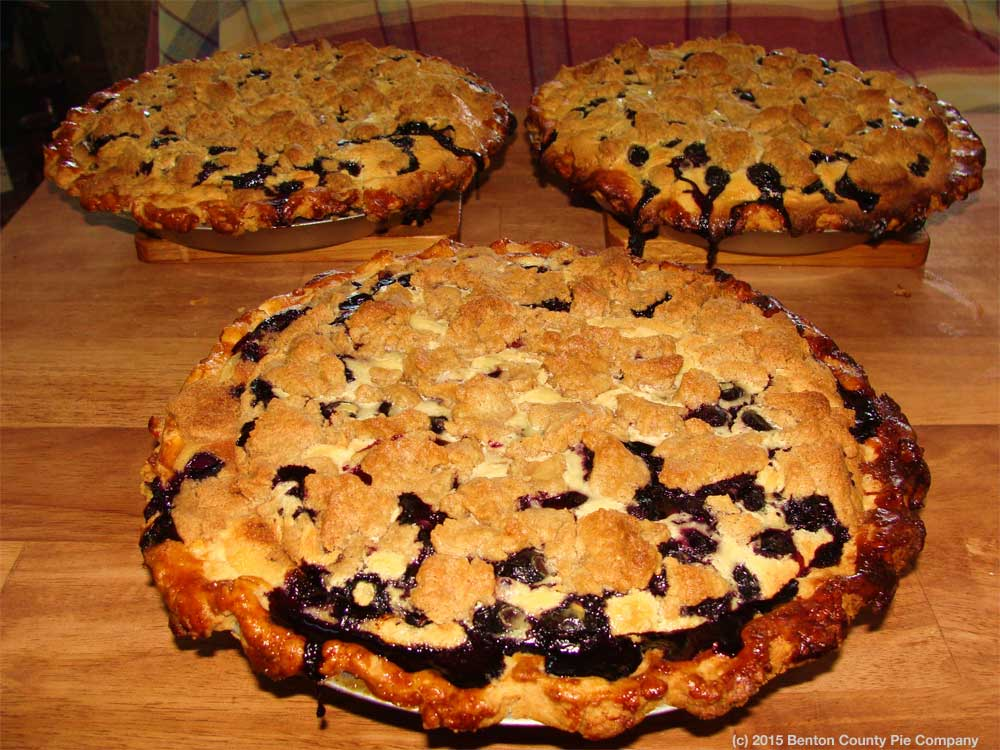 Blueberry Cream Pie Mandala