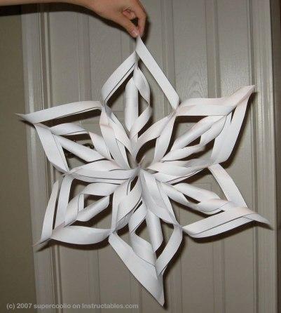Paper Snowflake Mandala
