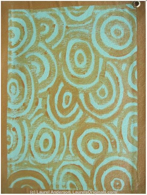 """Tropical Swirl"" by Laurel Anderson"