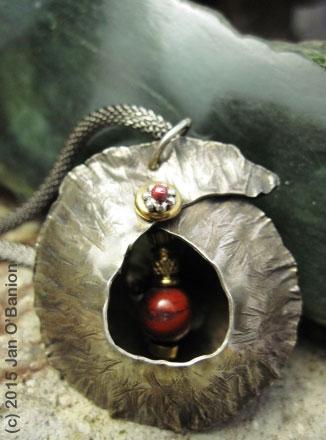 Jasper Cocoon Pendant