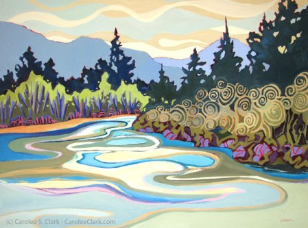 Bend in the River by Carolee S. Clark