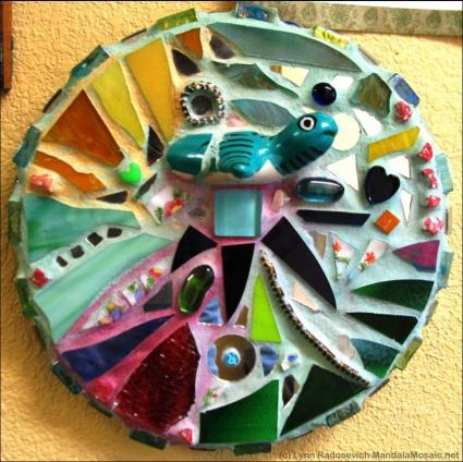 Mosaic Mandala by Lynn Radosevich