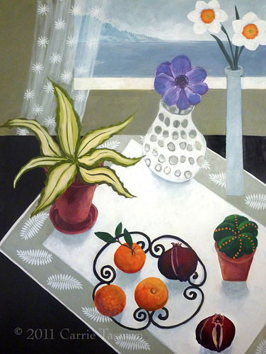 Anemone by Carrie Tasman