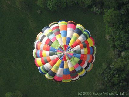 Hot Air Balloon by Euge Wheelwright