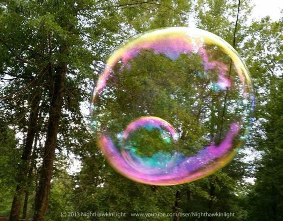 Double Bubble by NightHawkInLight