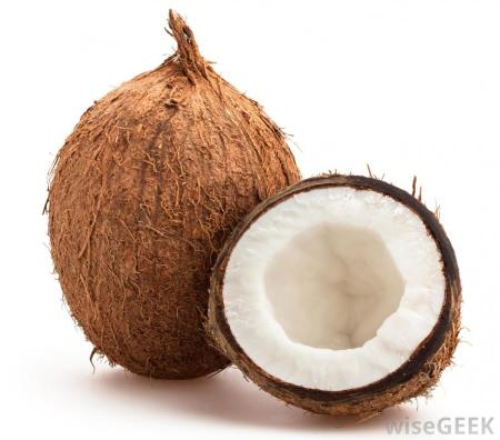 Raw Coconut - photo by WiseGeek