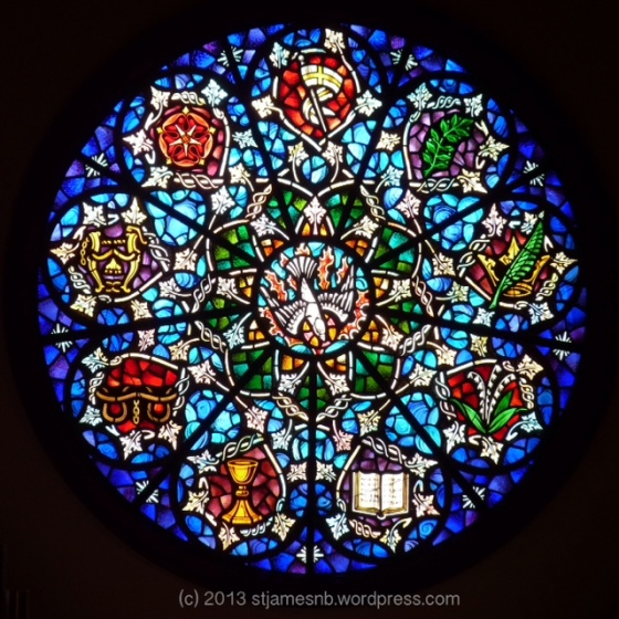 Rose Window at St. James