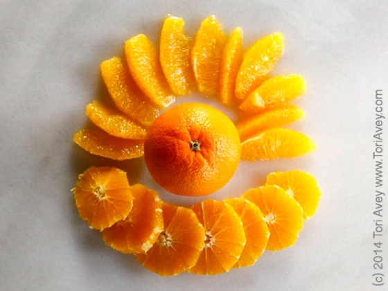 Slicing Oranges by Tori Avey