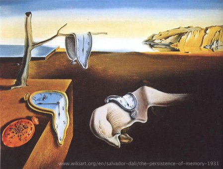 The Persistence of Memory Salvador Dalí