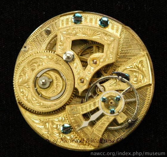 Inside mid-1800's Swiss Pocket Watch