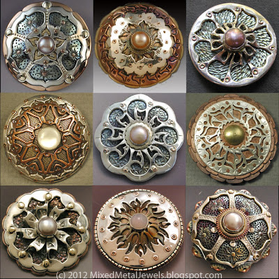 Metal Mandalas by Jima and Carli Abbott
