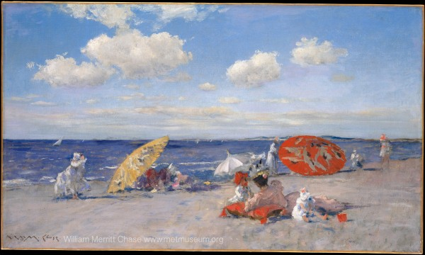 By the See by William Merritt Chase