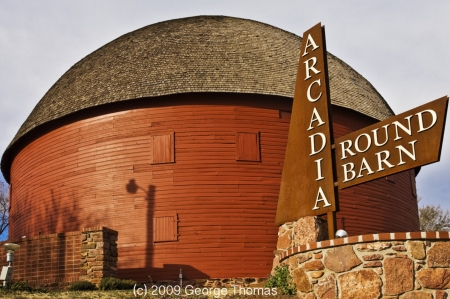 Arcadia Round Barn - photo by George Thomas