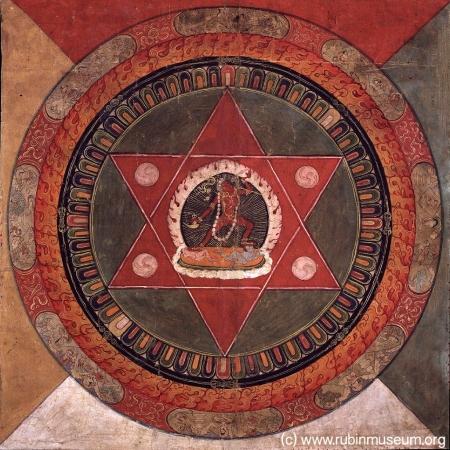 Tibetan Mandala at Rubin Museum in NYC