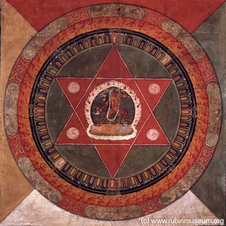 Tibetan Mandala at Rubin Museum in NYC