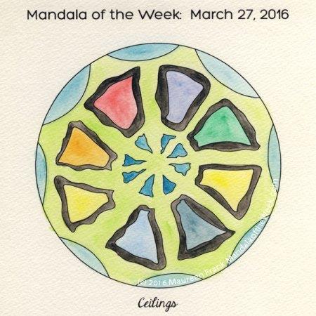 Ceilings Mandala by Maureen Frank