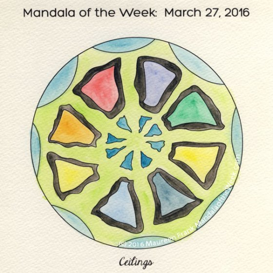 Ceilings Mandala by Maureen Frank
