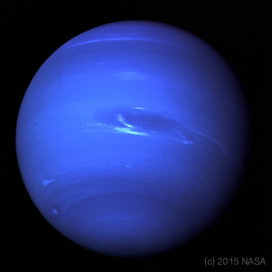 The Planet Neptune as photographed by NASA