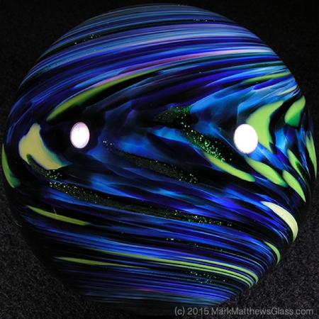 Blueberry Aventurine Marble by Mark Matthews