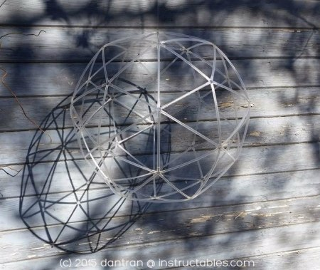 Geodesic Sphere by dantran on instructables.com