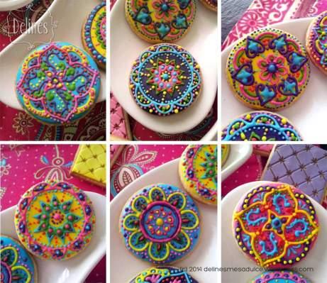 Mandala Cookies by Delines Mesa DulceMandala Cookies by Delines Mesa Dulce