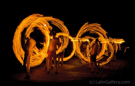 Fire Dancers - photo by Lalin Jinasena