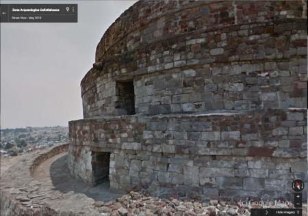 temple of quetzalocoatl - google maps