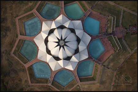 Lotus Temple - photo by Nicholas Chorier