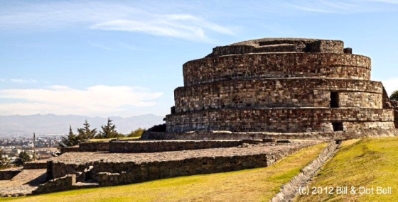 Calixtlahuaca Temple - photo by Bill & Dot Bell