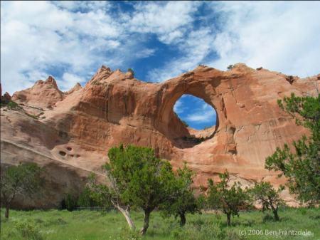 Window Rock - photo by Ben FrantzDale