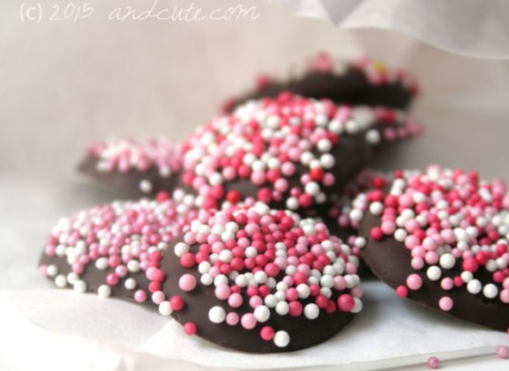 Easy Peasy Nonpareils by andcute.com