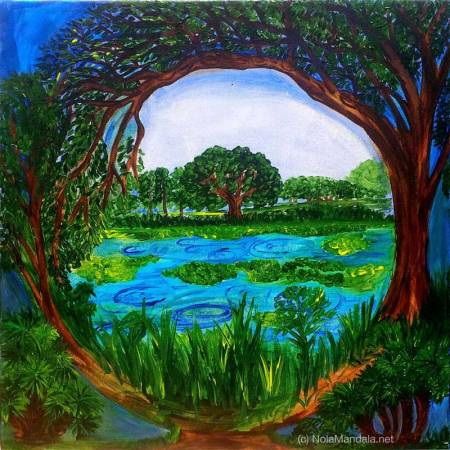 Bayou Mandala by Amy Sechooler