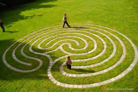 Labyrinth at Mount Tabor Presbyterian Church