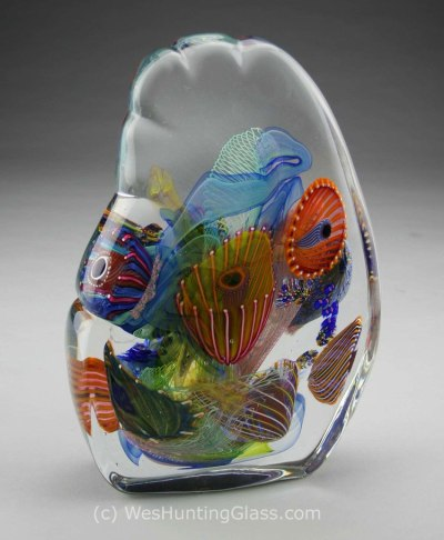 Wave by Wes Hunting Glassworks