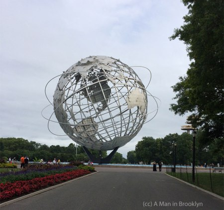 Unisphere - photo taken 2014