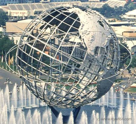 Unisphere - closer view