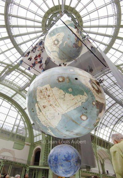 Coronelli's Globes - photo by Jean-Louis Aubert