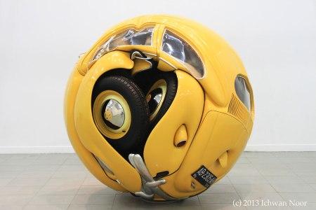 Beetle Sphere by Ichwan Noor