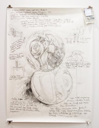 Beetle Sphere Sketch by Ichwan Noor